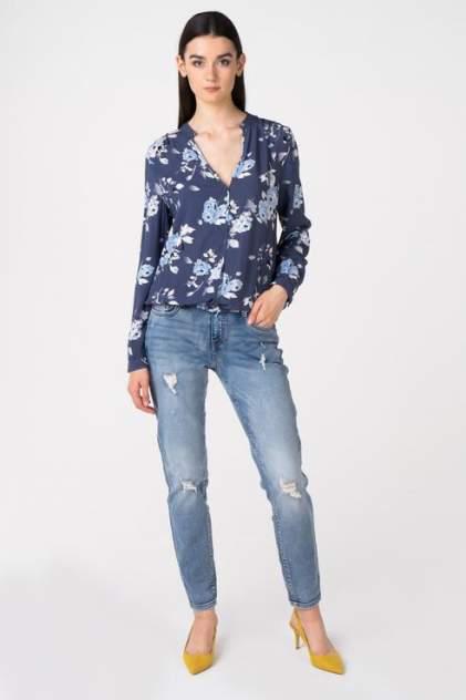 Блуза женская Broadway 10158722 синяя L
