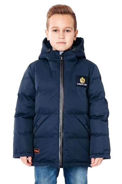 Куртка YooT зимняя для мальчика цв.синий р140