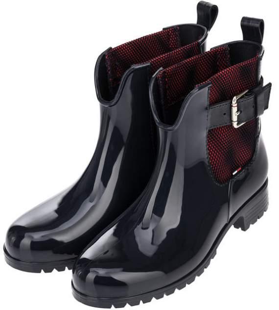 Женские резиновые резиновые ботинки Tommy Hilfiger FW0FW03713 403, синий