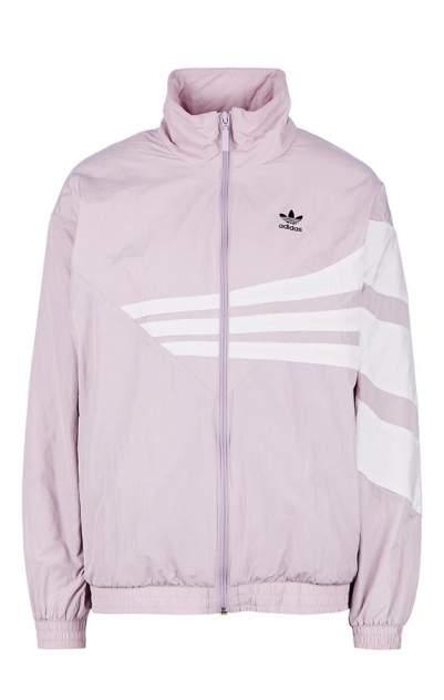 Куртка Adidas Originals DU9602, сиреневая/белая, XS INT