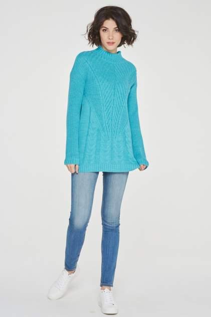 Свитер женский VAY 192-4963 голубой 50 RU