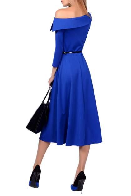 Платье женское FRANCESCA LUCINI F0724-4 синее 42 RU