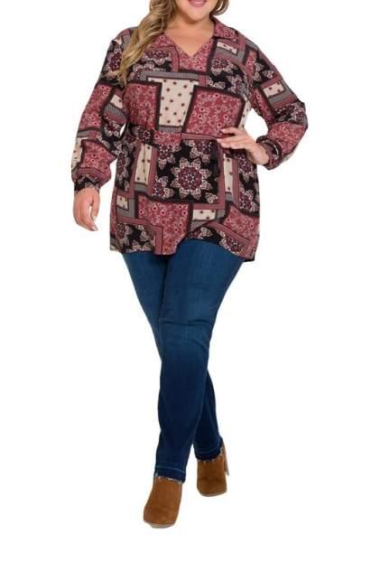 Блуза женская Интикома 218054 красная 54 RU