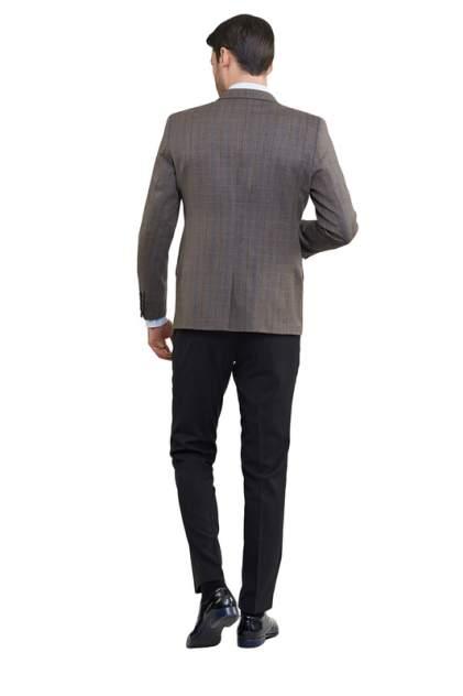 Пиджак мужской BAZIONI 3421-2 M DONALD LUX коричневый 52 RU