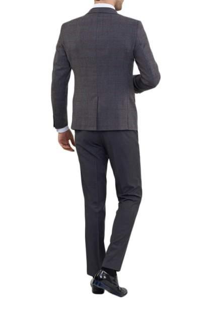 Пиджак мужской BAZIONI 0331-1 S ARGUSTO LUX серый 54 RU