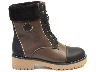 Ботинки женские Airbox 135804, коричневый