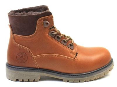 Ботинки женские Airbox 135847, коричневый