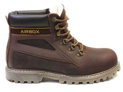 Мужские ботинки Airbox 135853, коричневый