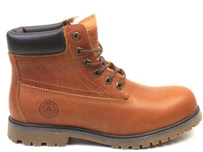 Ботинки женские Airbox 135858, коричневый