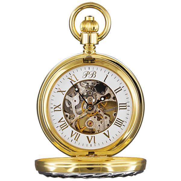 Карманные часы мужские Русское время 2176502 золотистые