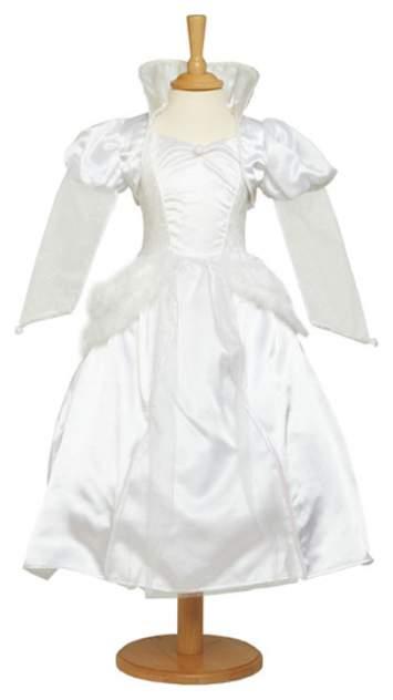 Карнавальный костюм Travis Designs Снежная Королева, цв. белый р.98