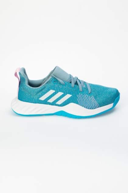 Кроссовки женские Adidas Solar LT голубые 39 RU