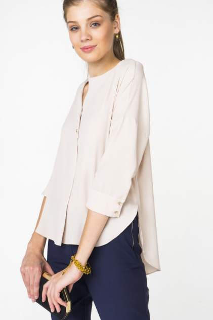 Блуза женская adL 11528050006 бежевая 46 RU