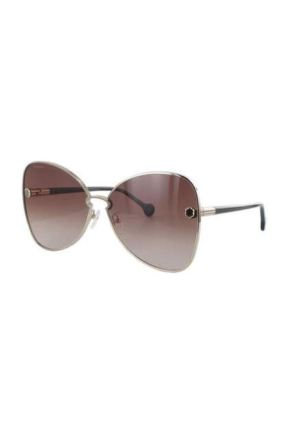 Солнцезащитные очки Salvatore Ferragamo 184S-704 золотистые/коричневые