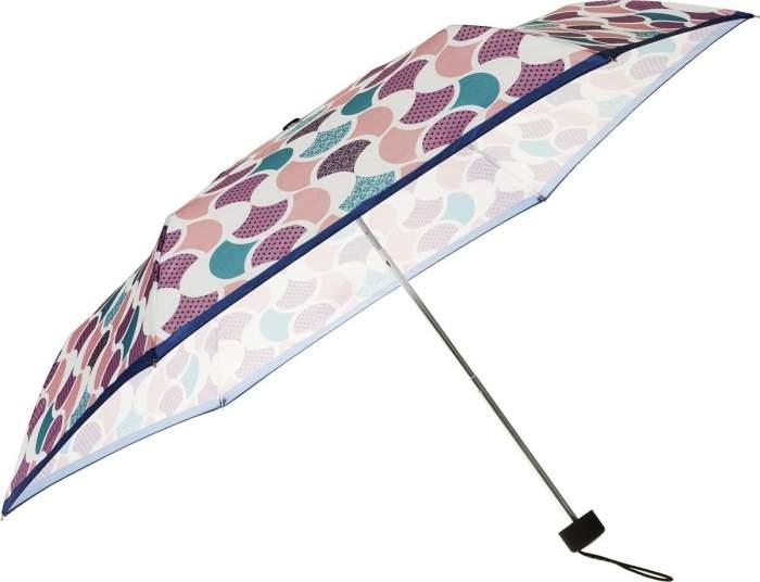 Зонт складной женский механический Henry Backer U32203 розовый