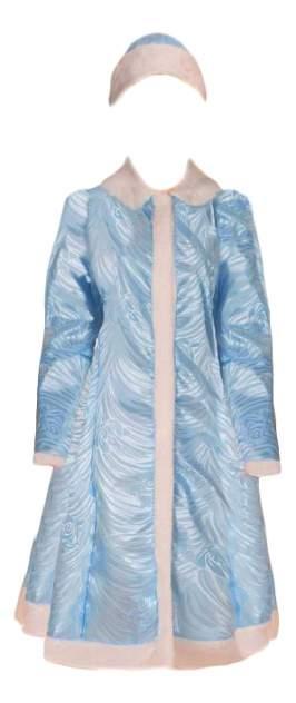 Карнавальный костюм Snowmen Снегурочка, цв. голубой р.176