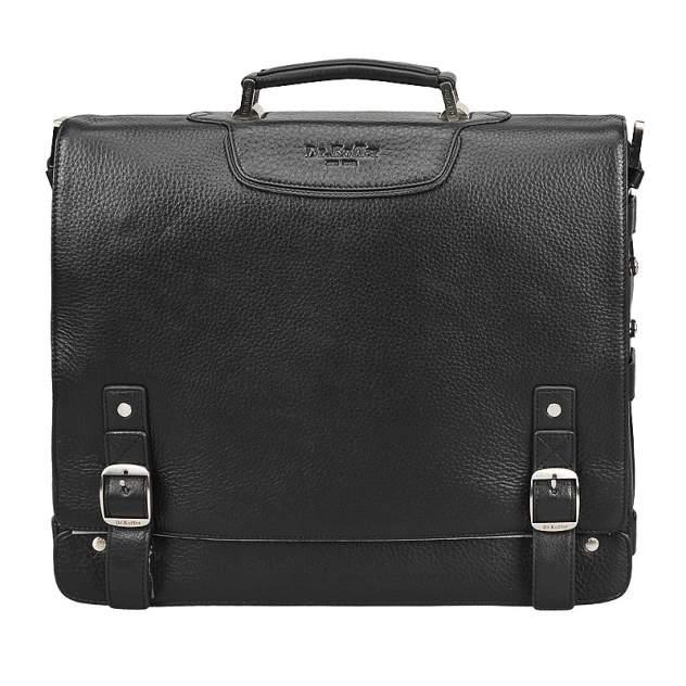 Портфель мужской кожаный Dr. Koffer B402141-01-04 черный