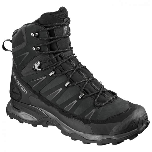Ботинки Salomon X Ultra Trek GTX, black/black/magnet, 11 UK