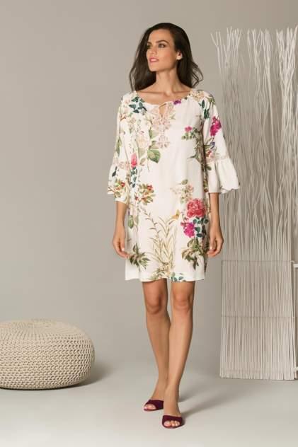 Домашнее платье женское Laete 61494 разноцветное L