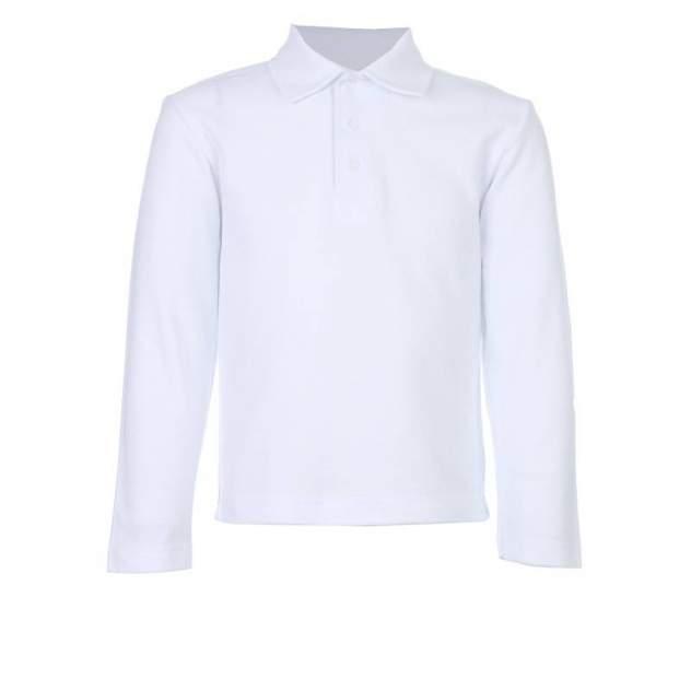 Рубашка-поло Снег, цв. белый, 116 р-р