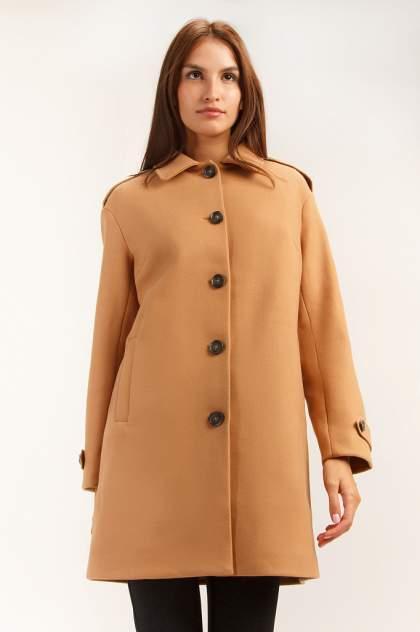 Женское пальто Finn Flare A19-12024, коричневый
