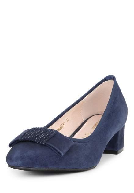 Туфли женские Alessio Nesca 710017851 синие 38 RU