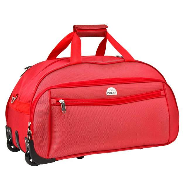 Дорожная сумка Polar 7019.5 красная 58 x 34 x 30