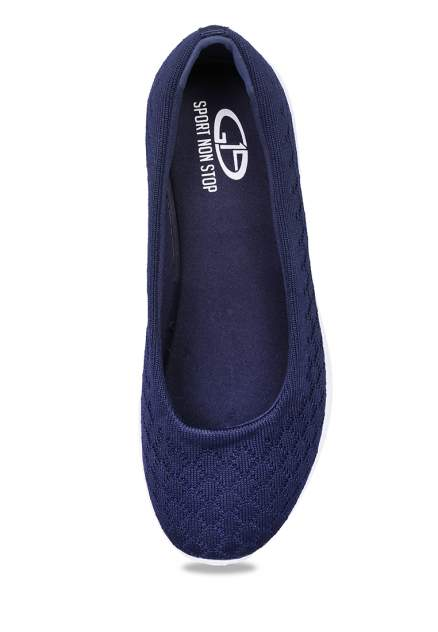 Балетки женские G19 sport non stop K1756-2 синие 39 RU