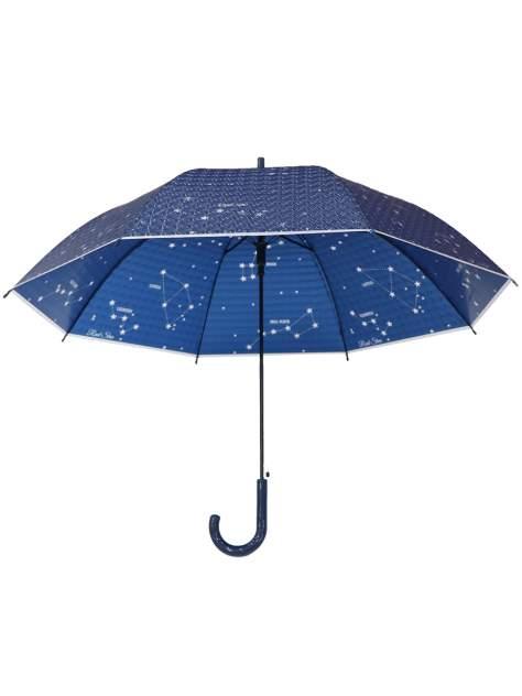 Зонт-трость МихиМихи Созвездия с 3D эффектом синий