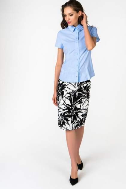 Рубашка женская Marimay 1628-1 голубая 48 RU