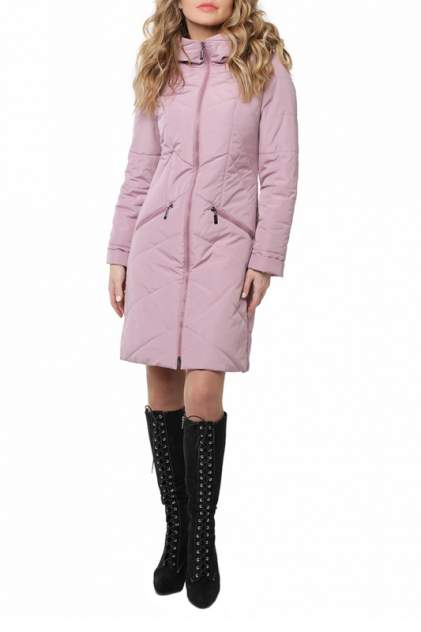 Пуховик-пальто женский DizzyWay 20102 розовый 52 RU
