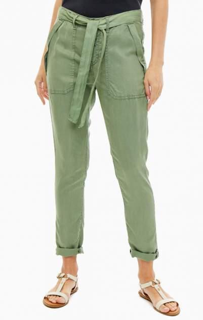 Брюки женские Pepe Jeans зеленые 40