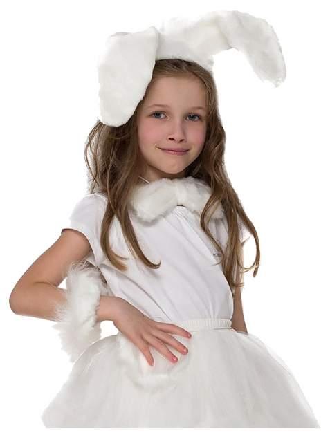 Карнавальный костюм Бока Заяц, цв. белый р.122