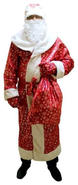 Карнавальный костюм Snowmen Дед Мороз, цв. красный р.onesize