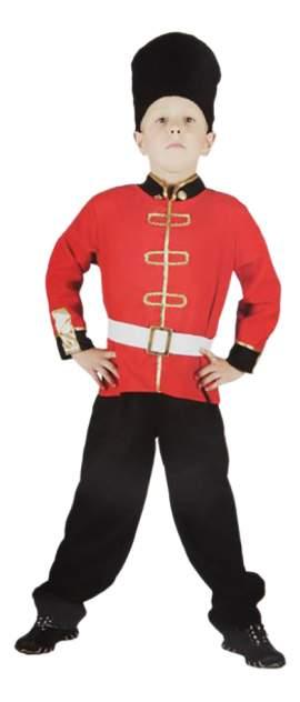 Карнавальный костюм Snowmen Казак, цв. красный; черный р.98