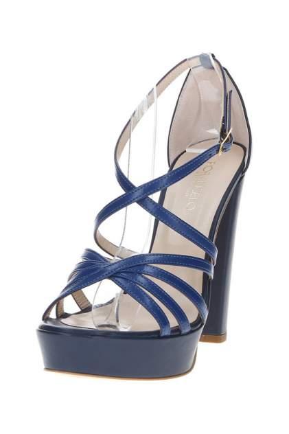 Босоножки женские Fiorangelo 19670 синие 39 RU