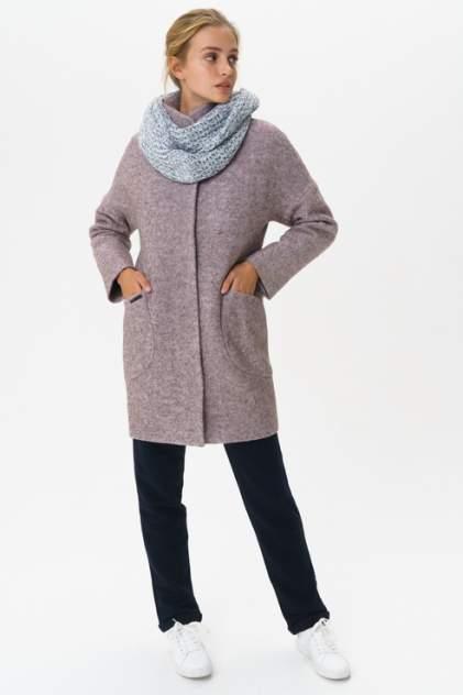 Пальто женское ElectraStyle С3У-7007/1-138 фиолетовое 44 RU