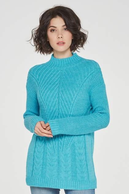 Свитер женский VAY 192-4963 голубой 56 RU