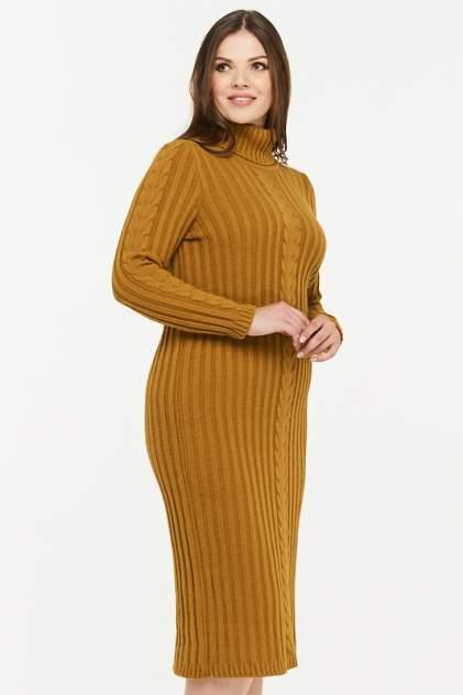 Платье женское VAY 2297 коричневое 54 RU