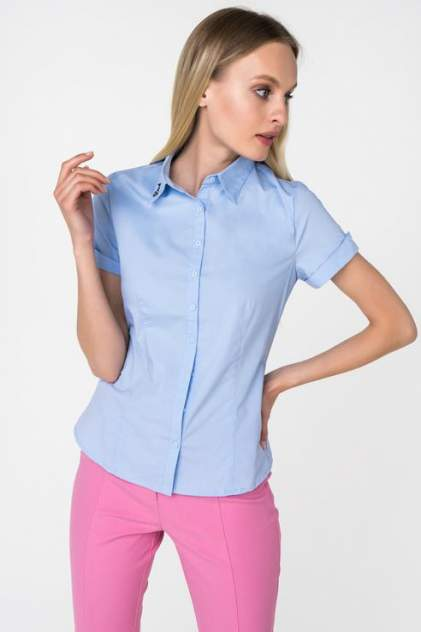 Женская рубашка Marimay 16283-1, голубой