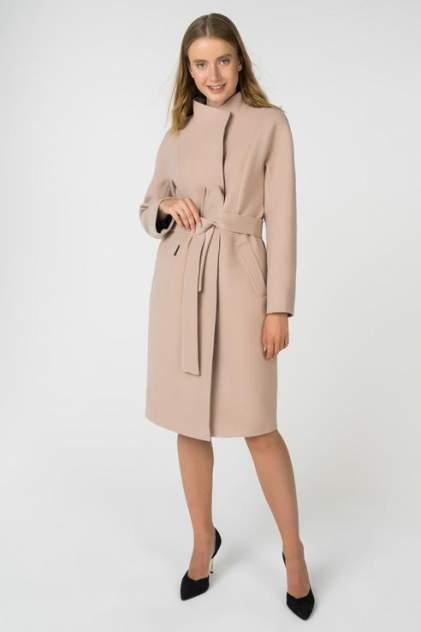 Пальто женское ElectraStyle 3-8108-128 коричневое 52 RU