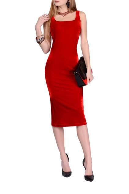 Платье женское FRANCESCA LUCINI F1049 красное 48 RU