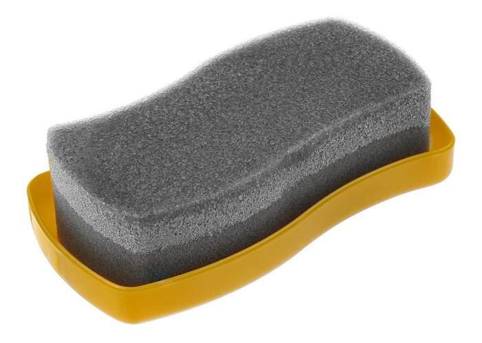 Губка для обуви Salton Волна для гладкой кожи бесцветная