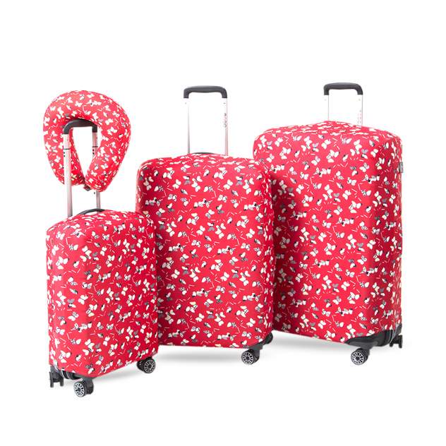 Чехол для чемодана Mettle Бумажные бабочки L