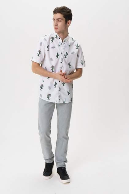 Рубашка мужская ONLY & SONS 22013084 белая L