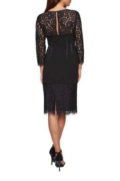 Платье женское Apart 27403 черное 38 DE