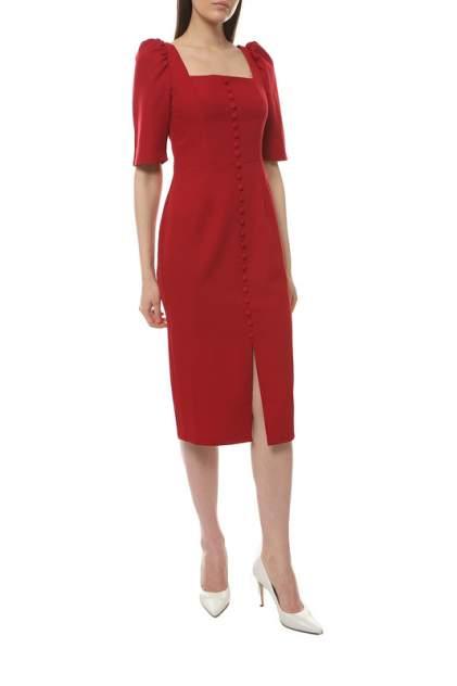 Повседневное платье женское EMANSIPE 39702 красное 52