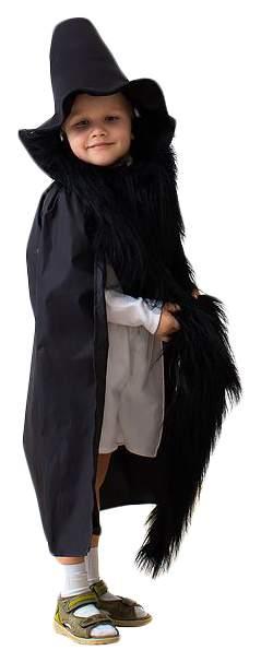 Карнавальный костюм Бока Карабас Барабас, цв. черный р.122