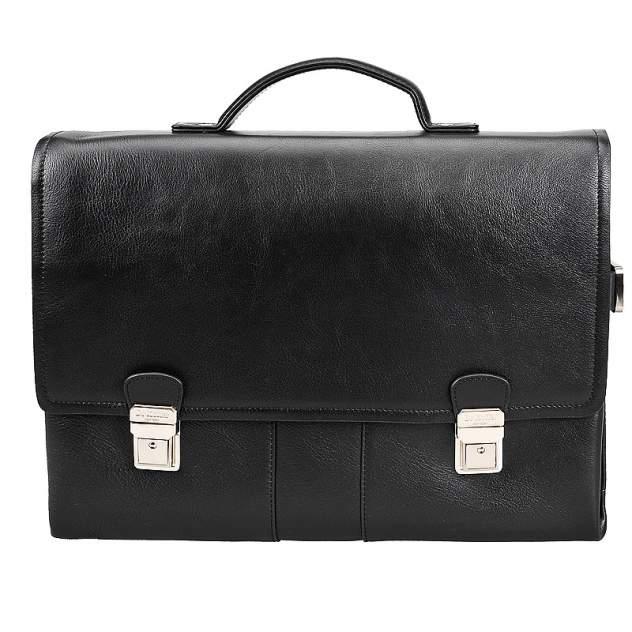 Портфель мужской кожаный Dr. Koffer P402330-02-04 черный