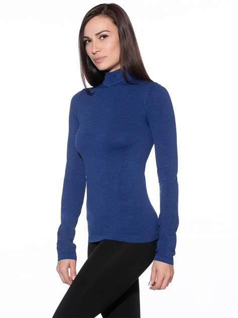 Водолазка женская Giulia голубая L/XL